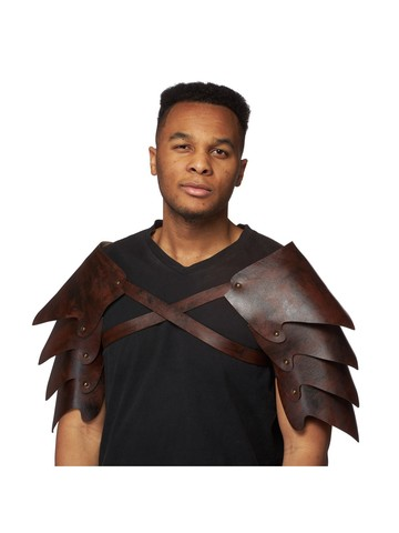 Leathery Shoulder Armor Accessory