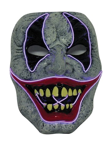 Led Clown Mask for Adults