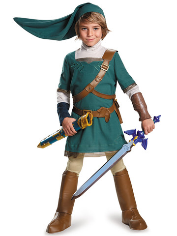 Legend of Zelda Boys Link Prestige Costume