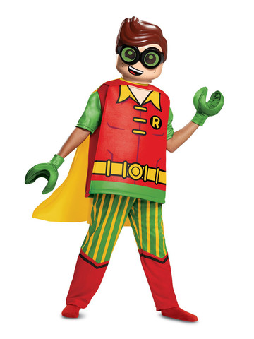 Lego Batman Movie: Deluxe Robin Costume for Children