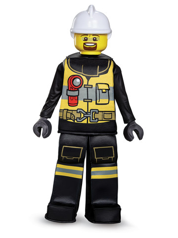 Kids Lego Iconic - Firefighter Prestige Costume