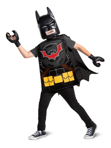 Batman Basic Costume for Kids (LEGO Movie 2)