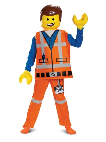Lego Movie 2 Emmet Deluxe Costume