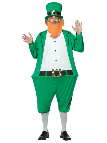 Adult Leprechaun Hoopster Costume