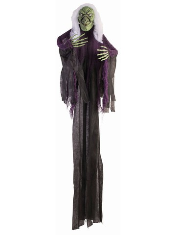 "60"" Light Up Witch with Sounds Prop"