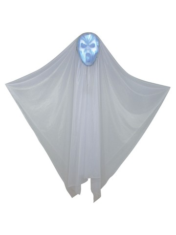 "60"" Hidden Face Light Up Ghost Prop"