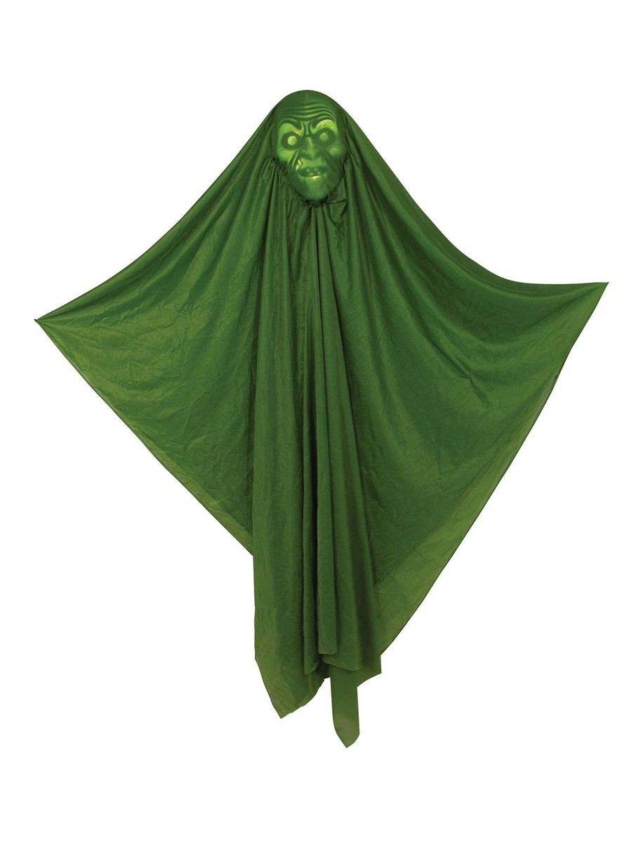 """View larger image of 60"""" Hidden Face Witch Light Up Prop"""