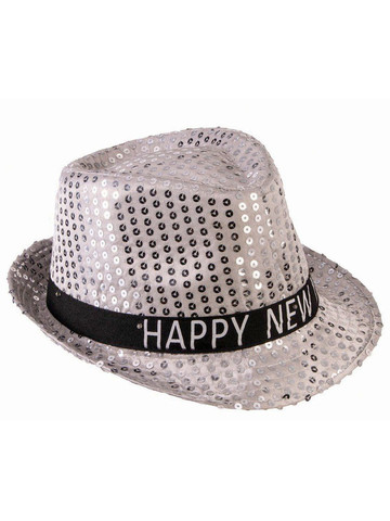 Light Up New Year Hat Assortment (48pcs)