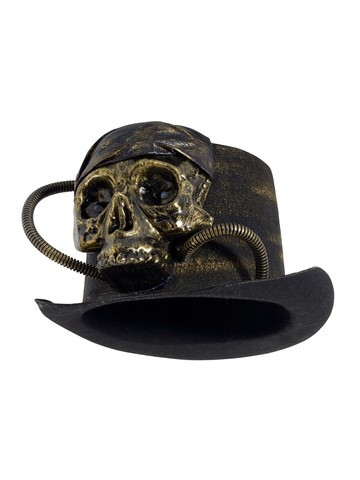 Adult Light Up Skull Top Hat