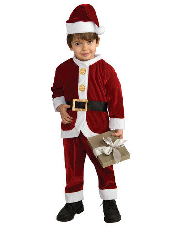 Toddler Lil' Santa Suit Costume