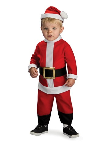 Lil' Santa Child Costume