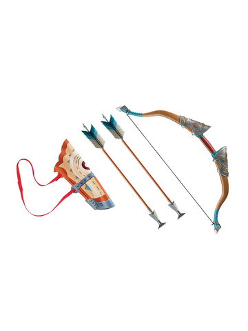 Link Breath of The Wild: Deluxe Bow Set with Arrows & Quiver