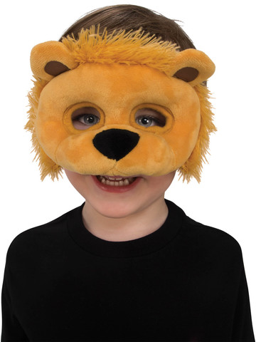 Plush Lion Eye Mask