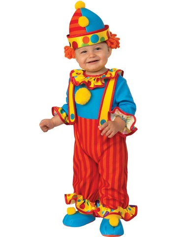 Clown Costume For Babies
