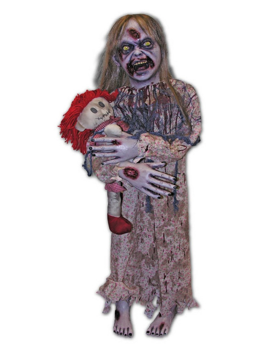 View larger image of Undead Little Girl Prop