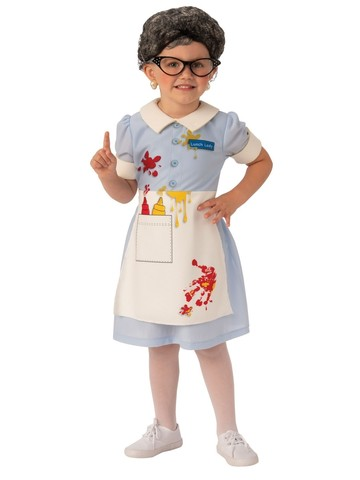 Lunch Lady Costume For Girls