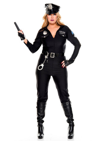 Lusty Lieutenant - Womens Sexy Plus Size Costume