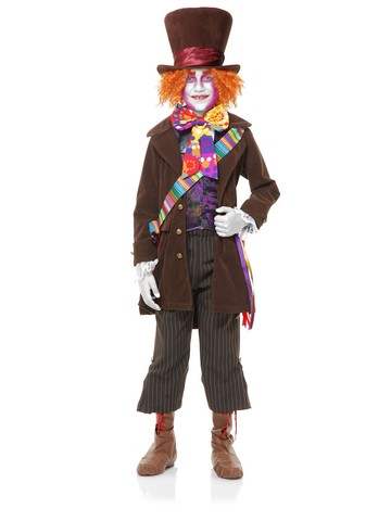 Mad Hatter Costume Set for Kids