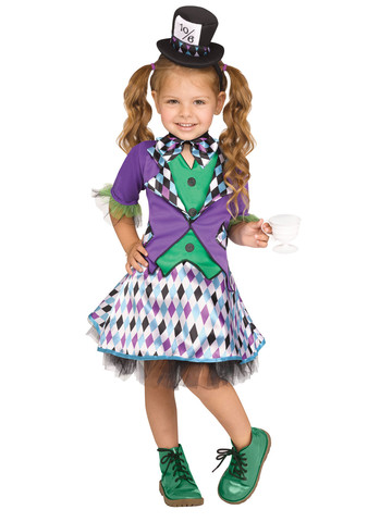 Girls Storybook Hat Maker Costume