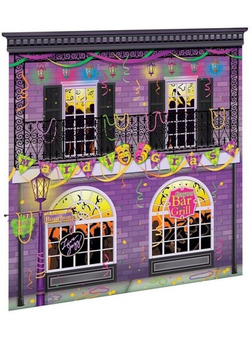Scene Setter Mardi Gras Wall Decorating Kit