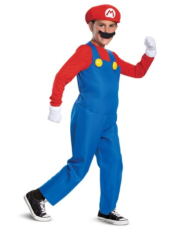 Deluxe Mario Costume for Kids