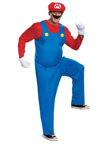 Deluxe Mario Costume for Adults