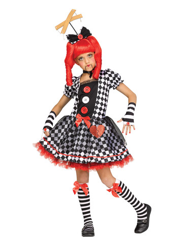 Marionette Doll Costume for Girls