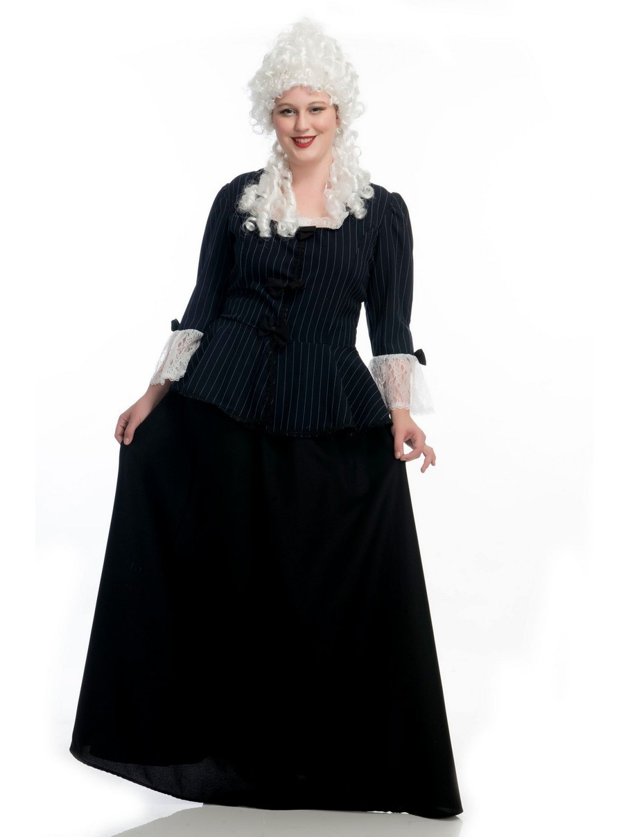 View larger image of Colonial Plus Sized Martha Washington