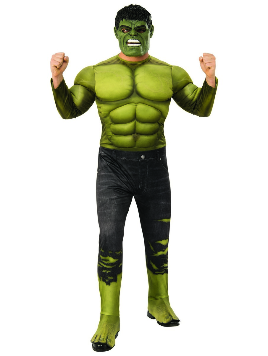 View larger image of Marvel: Avengers: Infinity War Deluxe Mens Hulk Costume