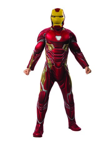 Marvel: Avengers: Infinity War Deluxe Mens Iron Man Costume
