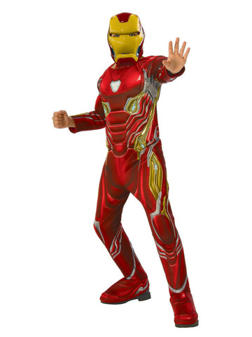 Marvel: Avengers: Infinity War Iron Man Deluxe Boys Costume