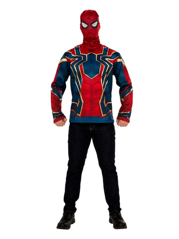 Mens Marvel Avengers: Infinity War Spider-Man Long Sleeve Top