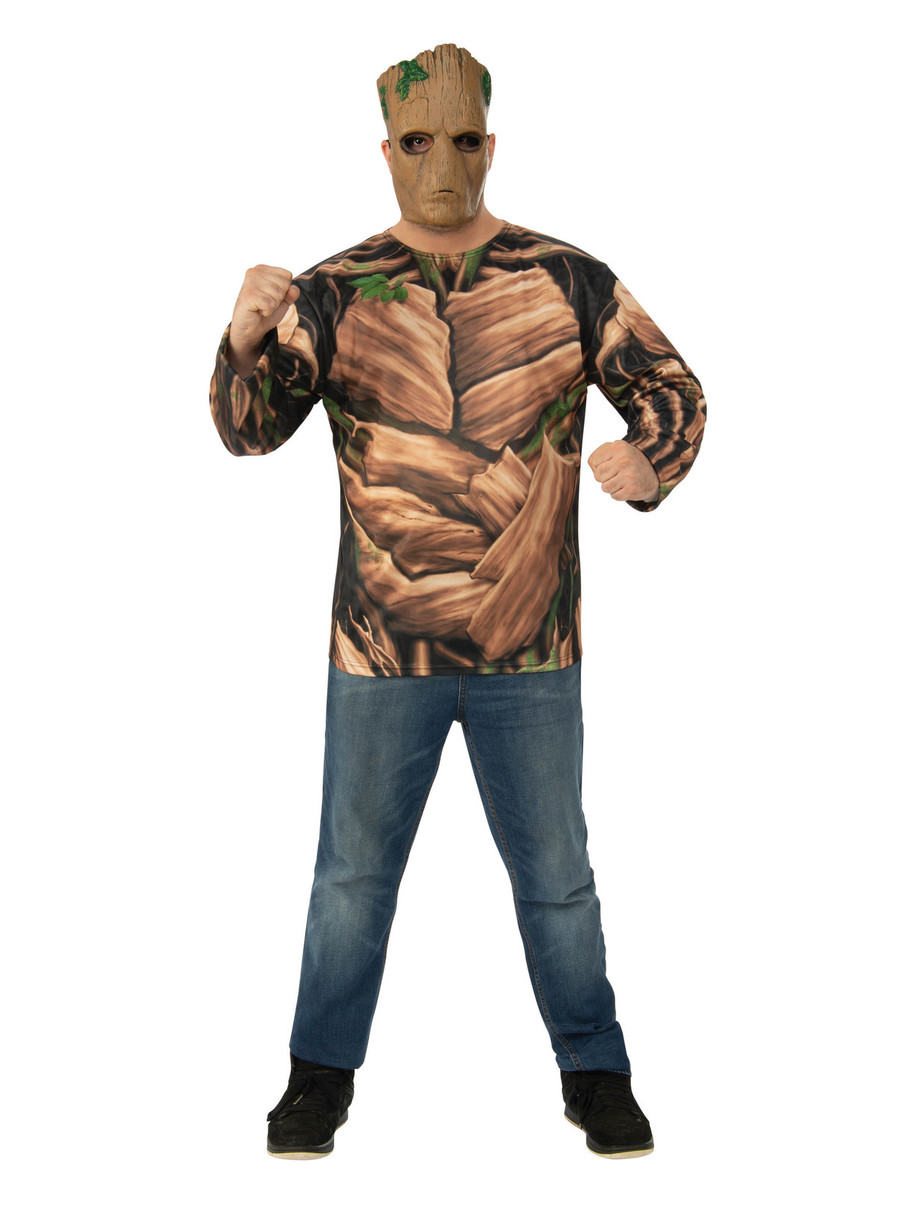 View larger image of Marvel Avengers: Infinity War Mens Teen Groot Long Sleeve Top