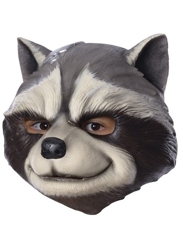 Marvel: Avengers: Infinity War Rocket Raccoon 3/4 Adult Mask