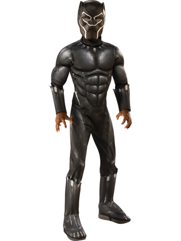 Marvel: Black Panther Movie Kids Muscle Chest Costume