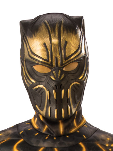 Marvel: Black Panther Movie Erik Killmonger Child Half Mask