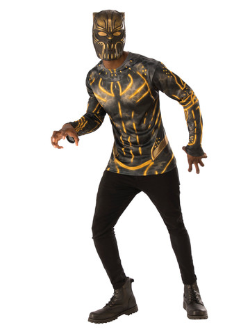 Black Panther Killmonger Suit Top