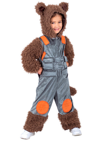 Marvel Rocket Raccoon Costume for Boys
