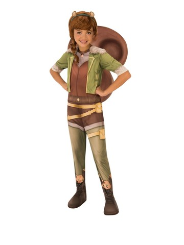 Marvel Rising - Secret Warriors Child Squirrel Girl Costume