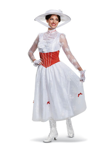 Mary Poppins Deluxe Womens Costume