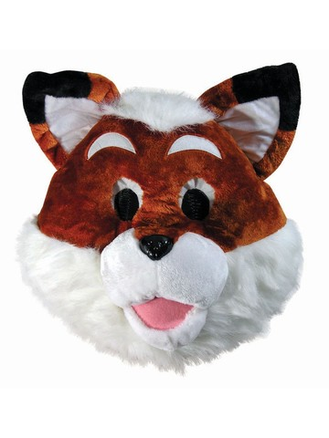 Fox Mascot Animal Mask