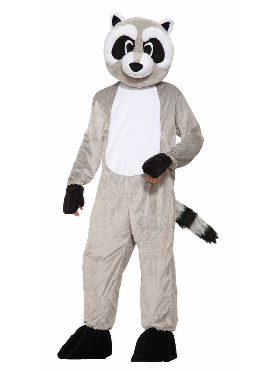 View larger image of Rickey Raccoon Adult Mascot Costume