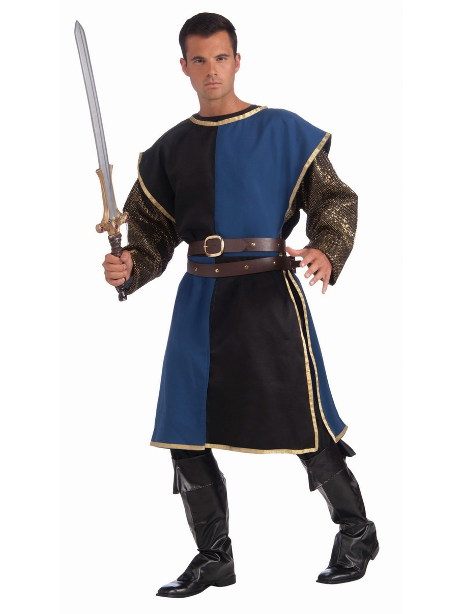 View larger image of Blue and Black Medieval Tabard