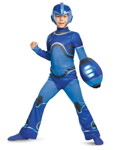 3-D Megaman Classic Costume for Kids