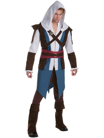 Mens Assassin's Creed Edward Classic Costume