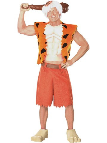 Mens Bam Bam Rubble Costume