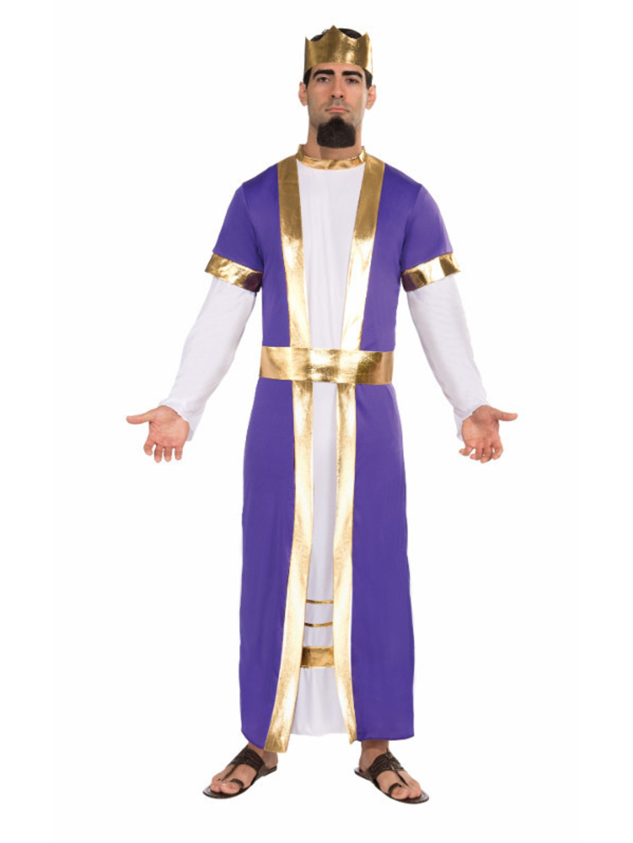 View larger image of Mens Biblical King Costume