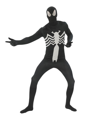 Amazing Spider-Man Black Skin Suit Costume