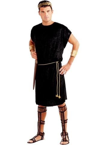 Mens Black Tunic Adult Costume