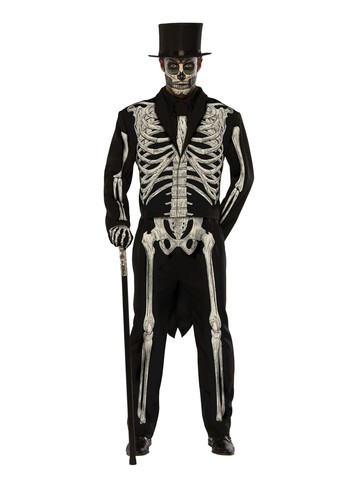 Mens Bone Chillin Costume